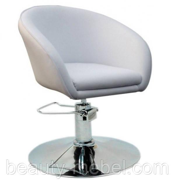 Кресло парикмахера Мурат Р белое