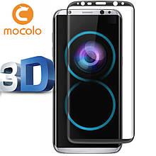 Защитное стекло Mocolo 3D 9H на весь экран для Samsung G950 S8 черный