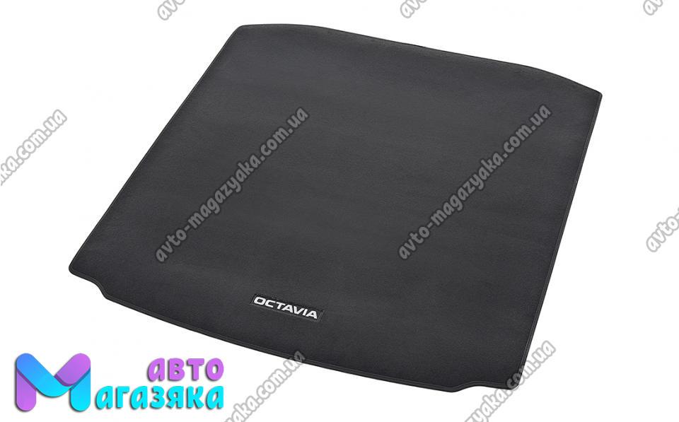 Коврики в багажниик текстильный для Chevrolet Aveo 2002-2012 5дв. (Чер
