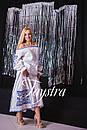 Костюм женский юбка и блуза с вышивкой, лен, бохо, этно стиль, Bohemian, фото 4