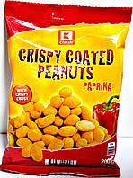 Орешки с вкусом паприки Crispy Coated Peanuts Paprika 150-200h.