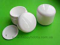 Баночка для крема с прокладкой, 50 мл (пластик)