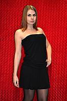Чёрное летнее платье