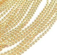 Металлическая цепочка(цвет-золото) 50см(толщина 1,5мм)
