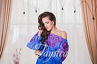 Модное стильное вечернее платье  бохо вышиванка лен, этно, стиль бохо шик, вишите плаття вишиванка, на свадьбу