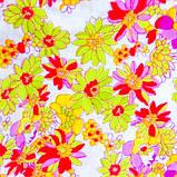 Тканина легкий коттон принт з квітковим малюнком, фото 2