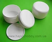 Баночка для крема с прокладкой, 100 мл (пластик)