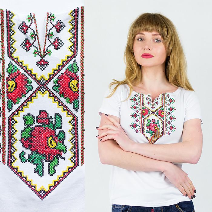 Женская футболка вышиванка Орнамент Новый