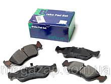 Колодки тормозные дисковые передние Daewoo Nexia, Espero, OPEL Astra F, Kadett E, Omega A, Vectra A