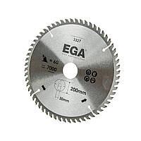 Диск по дереву 210х30 мм, 30 зуб. EGA
