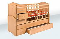 Кровать-трансформер с ящиком и тумбой, фото 1