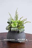 """Композиция """"Green Bouquet"""" из стабилизированных растений от компании  """"Artis Green"""""""