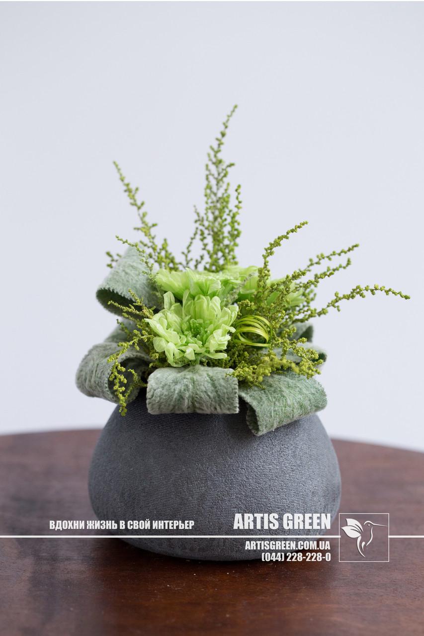 """Композиция """"Green Bouquet"""" из стабилизированных растений от компании  """"Artis Green"""" - ARTIS GREEN  в Киеве"""