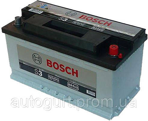 "Аккумулятор Bosch S3 90Ah, EN 720 правый ""+"" 353x175x190 (ДхШхВ)"