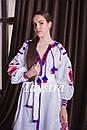 Бохо платье женское вышитое  бохо, вышиванка лен, этно, стиль бохо шик, вишите плаття вишиванка, фото 2