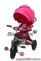 Детский трехколесный велосипед Crosser Modi T-500 Al Air (Розовый)