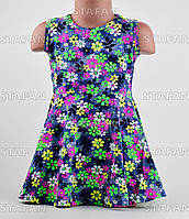 Летние детские платья Турция. Flink Kids 08-4-R. Размер на 6 лет.