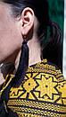 Платье черное бохо вышиванка лен, этно, стиль бохо шик, вишите плаття вишиванка, Bohemian,выпускное платье, фото 7