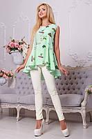 Модная рубашка-туника