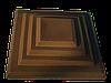 """Крышка для забора LAND BRICK """"каскад"""" коричневая 500х580 мм"""