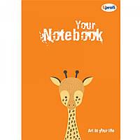 Блокнот для рисования Оранжевый Profiplan Artbook А5 недатированный