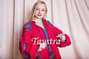 Платье красное вышитое бохо вышиванка лен, этно, стиль бохо шик, вишите плаття вишиванка, Bohemian, фото 2