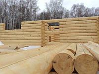 Оцилиндрованное бревно. Диаметр 80-450мм. По Украине и на экспорт.