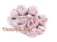 Букет роз из фоамирана 2см (розовые)