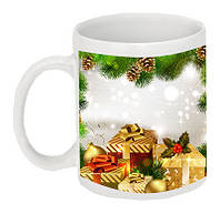 Чашка с Вашим дизайном белая керамическая