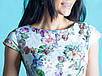 Нарядное летнее платье с цветами, фото 4