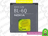 Аккумулятор  Nokia BL-6Q, 970mAh (батарея, АКБ)