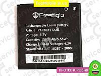 Аккумулятор  Prestigio PAP4044, 1500mAh (батарея, АКБ)