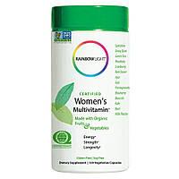 Rainbow Light, Сертифицированные мультивитамины для женщин, 120  капсул, Certified Women's Multivitamin