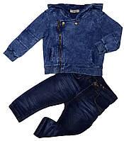 Весенняя ветровка для мальчика джинсовая ТМ Cikoby размеры 80