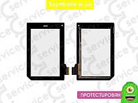 Тачскрин  ACER B1-A71 Iconia Tab (T070GFF07 V3 KM), чёрный  (сенсор, touch screen)