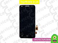 Модуль  Alcatel One Touch 4027D PIXI 3(4.5)/5017D/5017X  (дисплей + тачскрин), чёрный