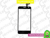 Тачскрин  Alcatel One Touch 6012 Idol Mini Sate, чёрный (сенсор, touch screen)