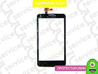 Тачскрин  Alcatel One Touch 8000 Scribe Easy, чёрный (сенсор, touch screen)