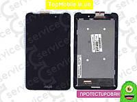 """Модуль Asus ME170C MeMO Pad 7""""/FE170CG (K01A/ K012/K017) (дисплей + тачскрин), черный, с передней панелью"""