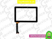 "Тачскрин  Asus ME102A MeMO Pad 10 "" (K00F) (MCF-101-0990-01-FPC-V2.0/V3.0), чёрный  (сенсор, touch screen)"