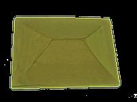 "Крышка для забора LAND BRICK ""китай"" желтая 310х430 мм"