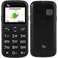 "Бабушкофон телефон Fly Ezzy 7 Black черный (1SIM) 1,77"" 32/32 МБ+SD оригинал Гарантия!"
