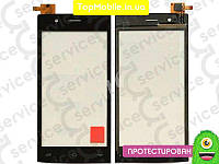 Тачскрин  Fly FS451 Nimbus 1, чёрный  (сенсор, touch screen)