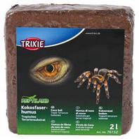 """Кокосовый субстрат для террариумов тип """"Тропики"""" брикет, 2 л."""