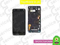 Модуль  HTC 801e One M7/801n (дисплей + тачскрин), чёрный