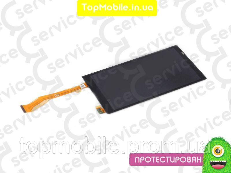 Дисплей HTC 816 Desire + сенсор черный, желтый шлейф ( модуль, стекло)