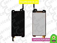 Модуль  HTC 901e Butterfly S/901s (дисплей + тачскрин), чёрный