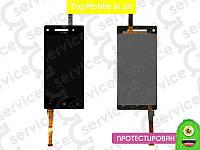 Модуль  HTC C620e Windows Phone 8X (дисплей + тачскрин), чёрный