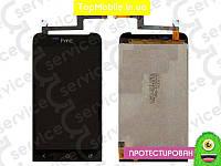 Модуль  HTC T320e ONE V G24 (дисплей + тачскрин), чёрный