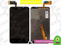Модуль  HTC T328d Desire VC (дисплей + тачскрин), чёрный